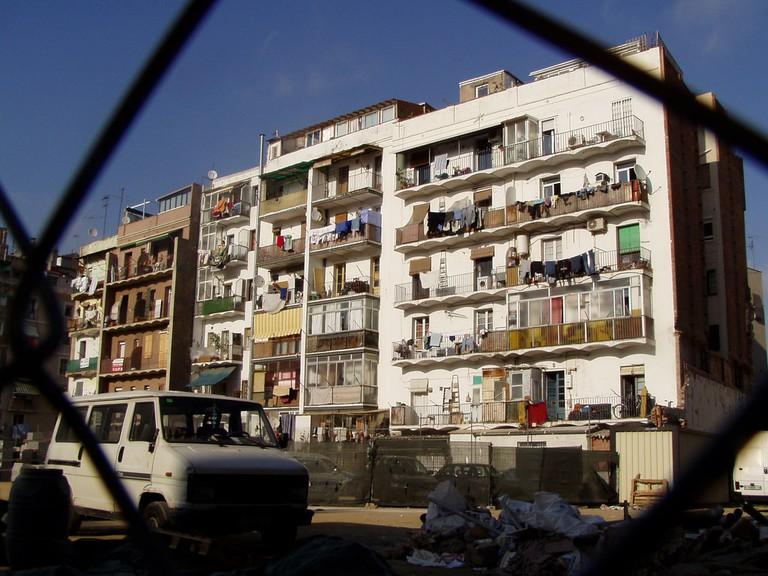 Housing in El Raval © nelumba