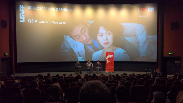 "Park Chan-wook discusses ""The Handmaiden"" at the London East Asian Film Festival 