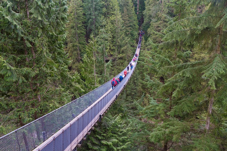 Capilano Suspension Bridge | © Yashima / Flickr