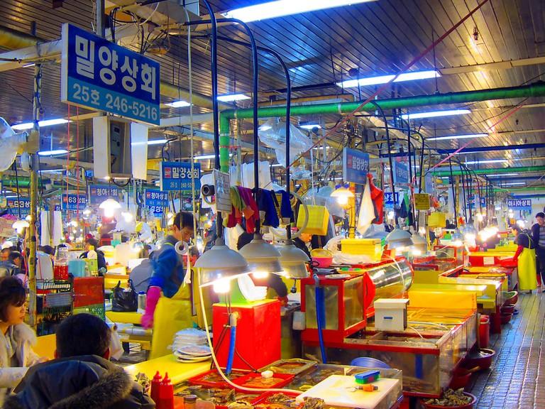 Jagalchi Market | © yeowatzup / Flickr