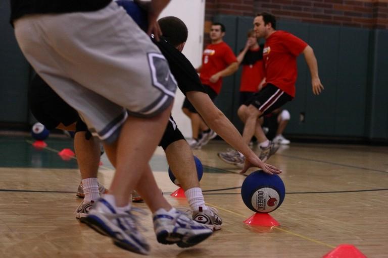 Indoor dodgeball