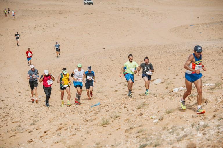 The 2017 Sahara Marathon | © Flickr/Sahara Marathon