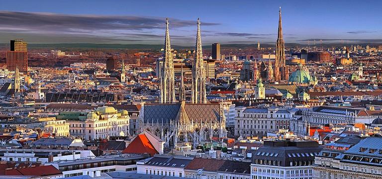 Vienna skyline | © Mohsen Soori / Flickr