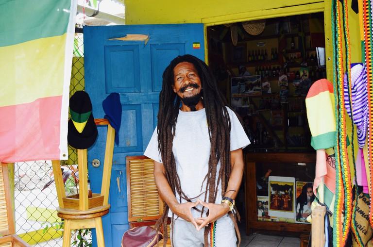 Reggae Artist Jungle Lion at Debre Zeit   © CaribbeanCables/Flickr