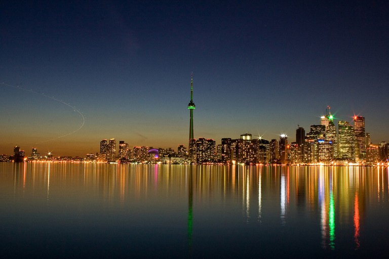 Toronto at night | © Abi K / Flickr
