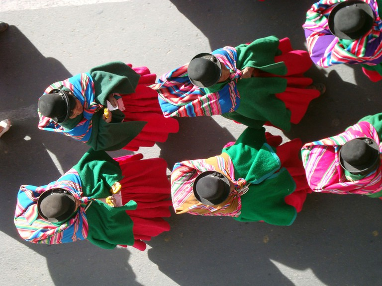 Cholita dress | © Ray Edson Hurtado Romero/Flickr