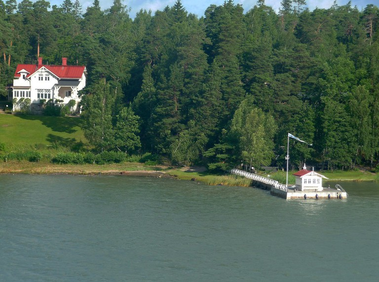 A typical archipelago island home/ Don Wright/ Flickr