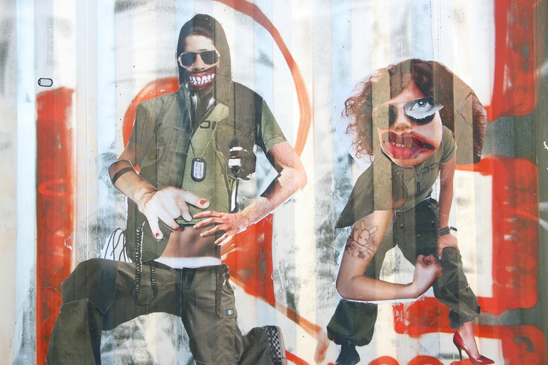 A gender-bending collage in the streets of Berlin | © carnagenyc/Flickr