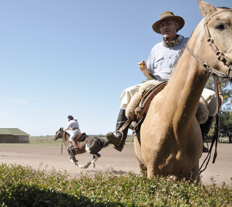 Guachos in a rodeo | © Mary Madigan/Flickr
