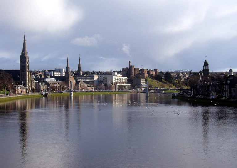 River Ness and Inverness Skyline
