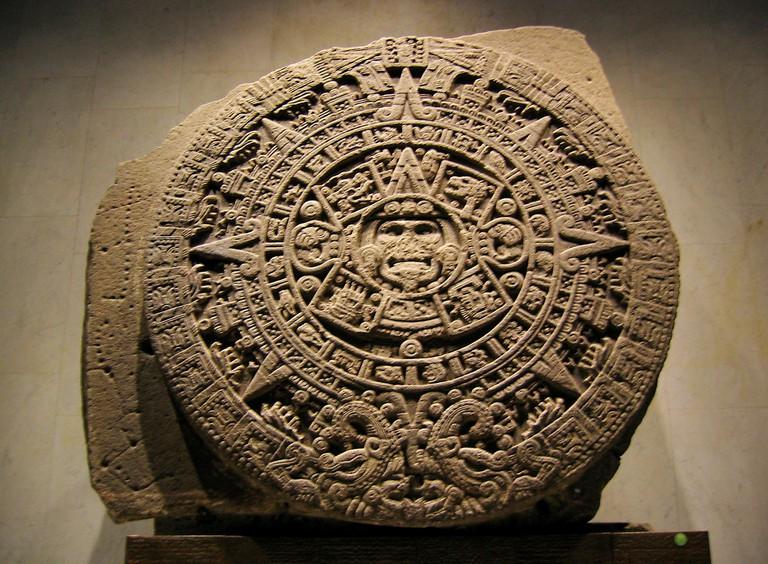 Aztec Calendar Stone | © Xuan Che/Flickr