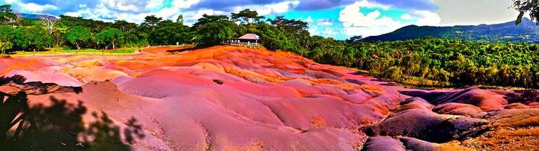 Chamarel coloured earths|© llee_wu/FlickR