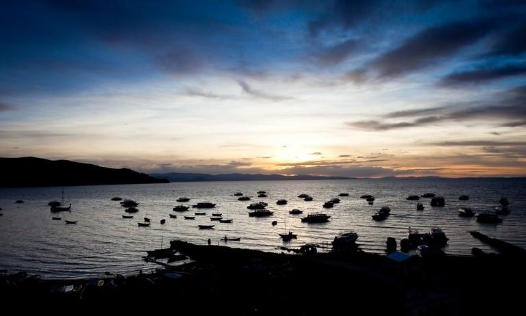 Copacabana sunset | © Cecilia Heinen/Flickr