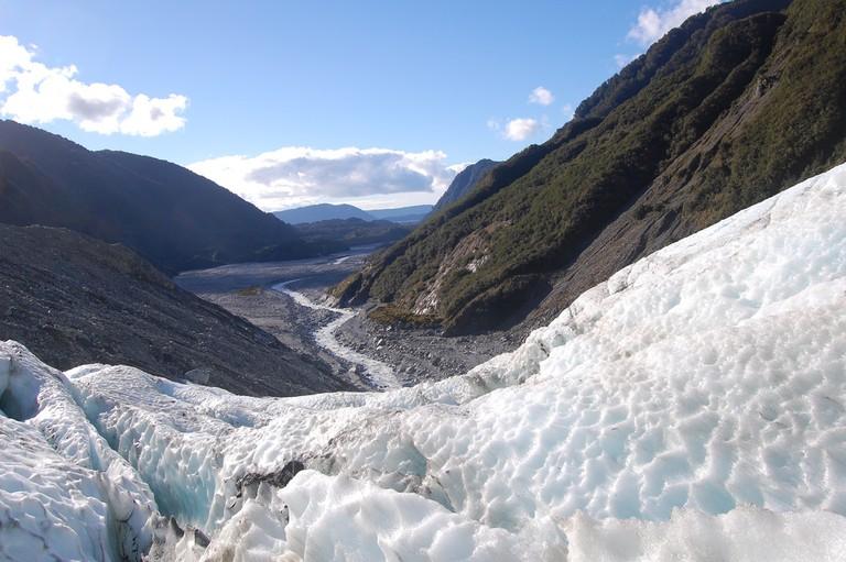 Franz Josef Glacier | © edwin11/Flickr