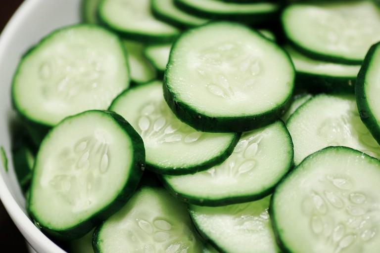 Sliced cucumber | © Stacy/Flickr