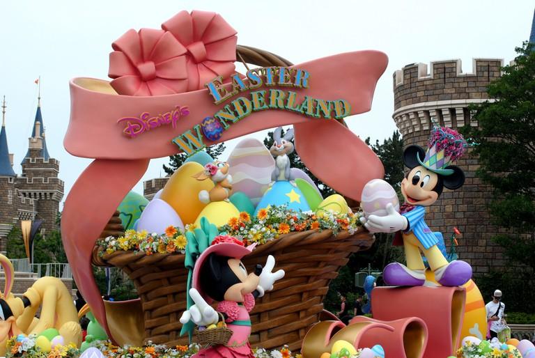 Easter at Tokyo Disneyland | © kosabe/Flickr