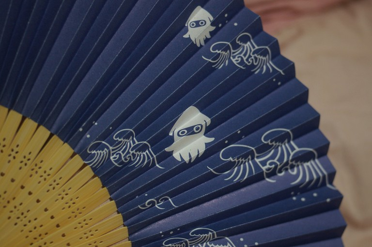 Folding fan with characters from the Nintendo universe, bloopers | © masatsu/Flickr