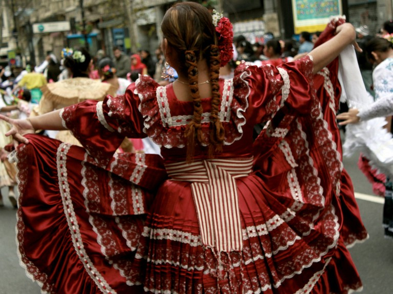 The polleras is beginning to making an appearance on the international fashion stage | © +EMEME/Flickr