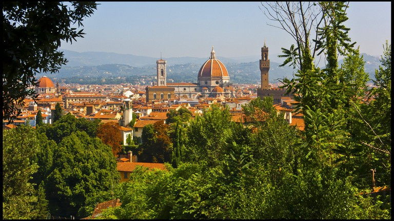 View of the Duomo from Boboli Gardens   © Guillén Pérez