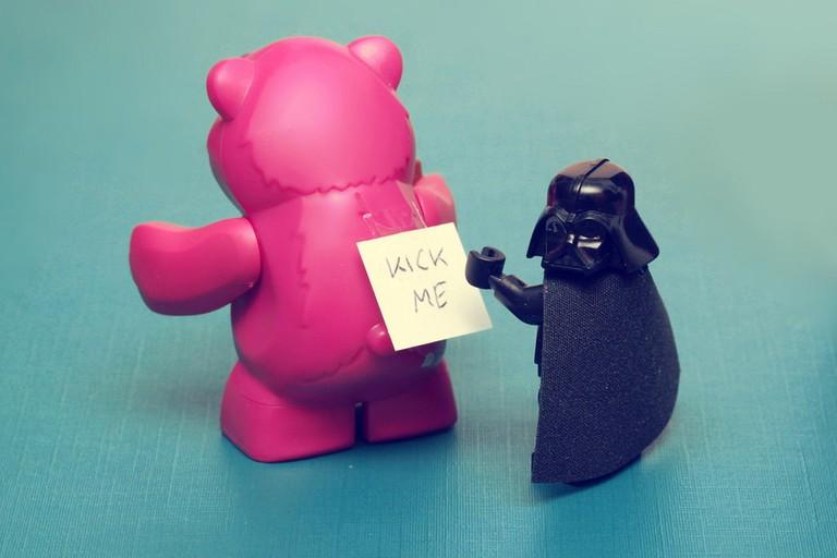 Kick Me | © Pascal / Flickr