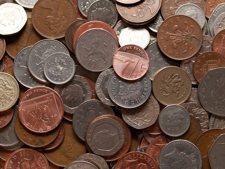 British Coins | © William Warby/Flickr