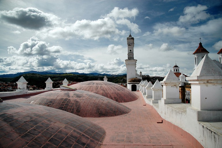 Rooftop in Sucre | ©TomaB/Flickr