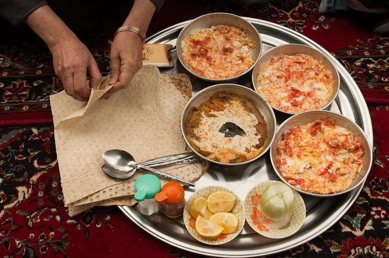 Breakfast omelette | © Kamyar Adl / Flickr