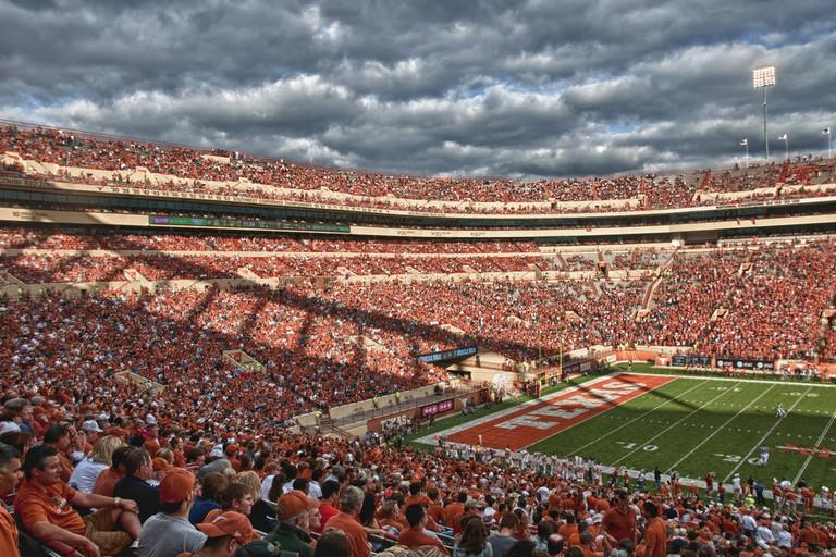 Texas Longhorns football © Randall Chancellor