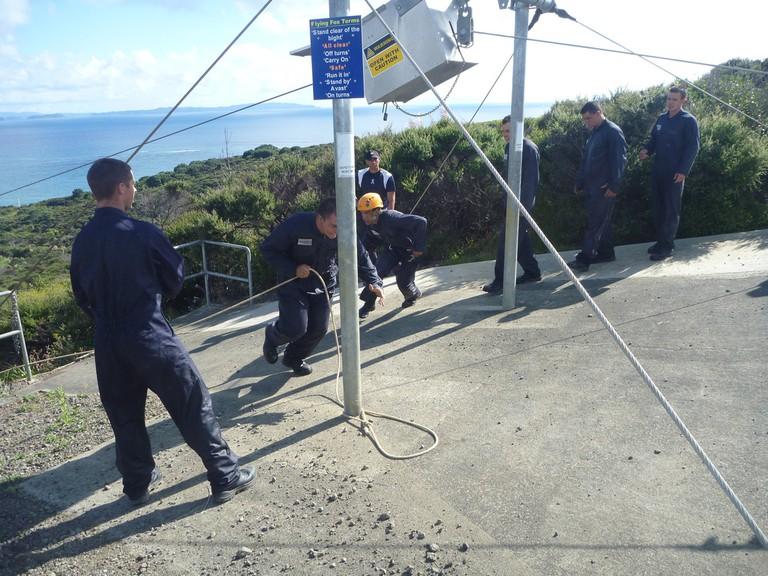 Ziplining in New Zealand | © Royal New Zealand Navy/Flickr