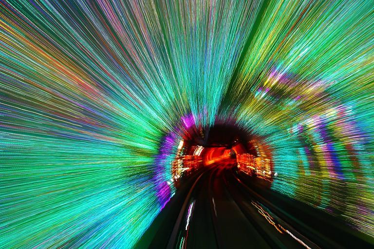 Bund Sightseeing Tunnel, Shanghai | ©Wenjie, Zhang/Flickr