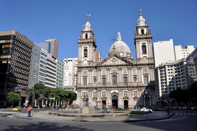 Igreja de Nossa Senhora da Candelária, an important Catholic church in Rio de Janeiro |© Alexandre Macieira|Riotur/Flickr