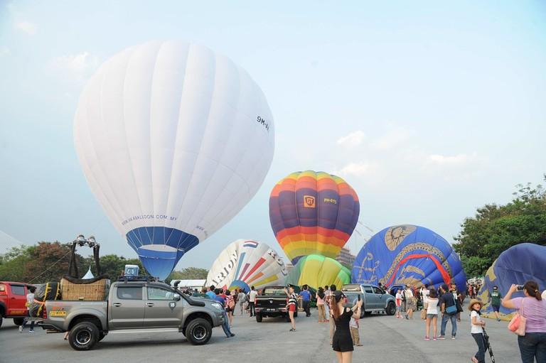 Balloon Park | Courtesy of AKA Balloon