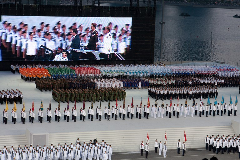 National Day Parade 2011 Dress Rehearsal | © Brian Jeffery Beggerly/Flickr