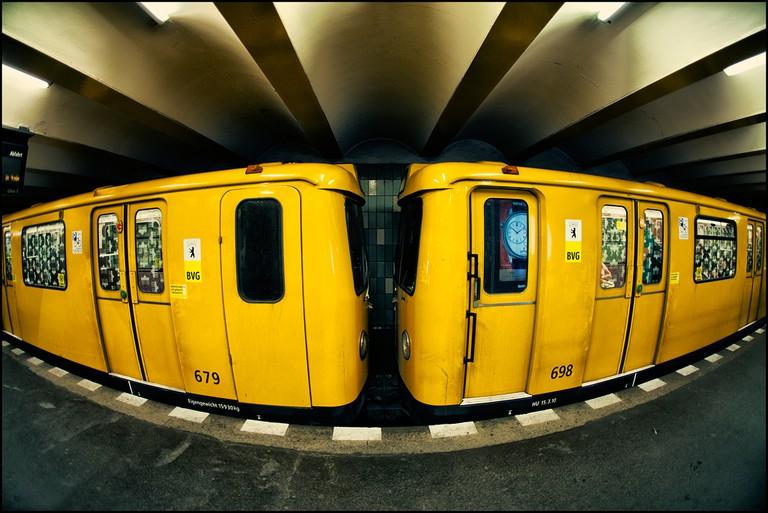 Berlin's iconic underground transport system | © Alexander Rentsch/Flickr