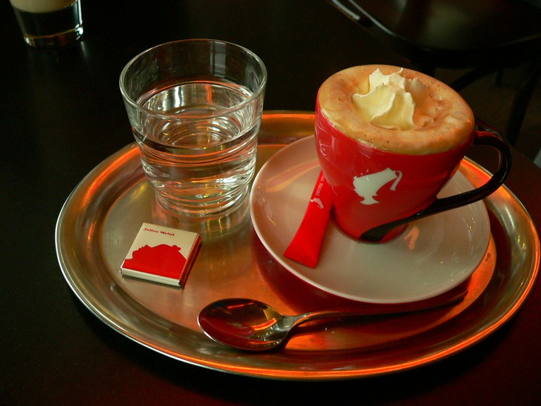 Einspanner At Meinl's | © Alkan Boudewijn de Beaumont Chaglar / Flickr