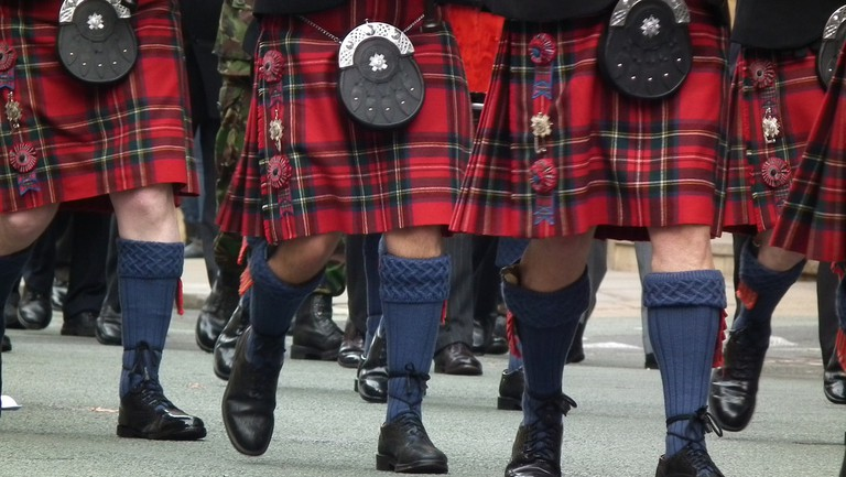 Kilts and Sporrans | © Stuart Grout/Flickr