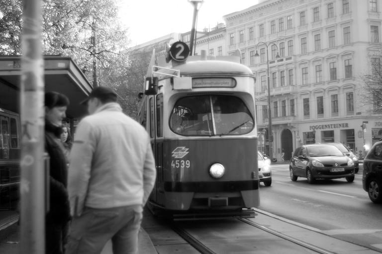 Tram in Vienna
