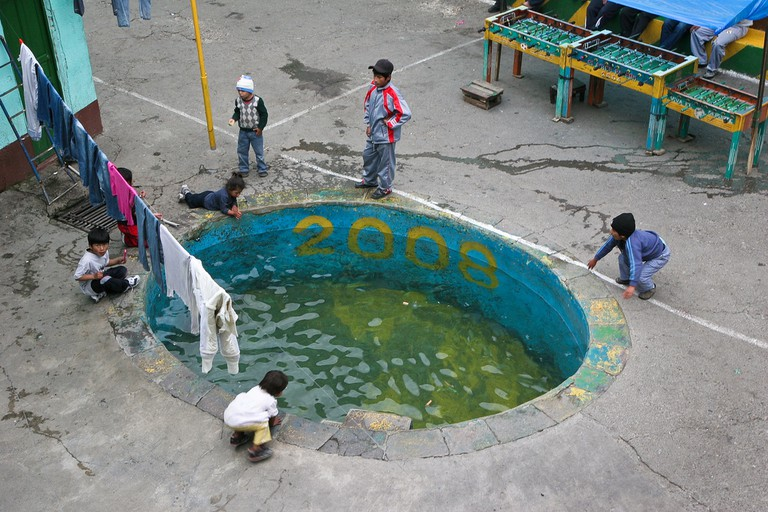 Prison swimming pool | © Danielle Pereira/Flickr