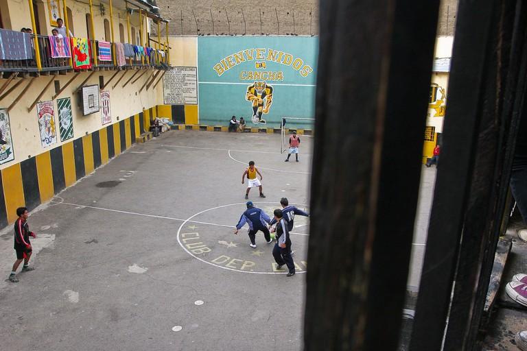 Prison football match | © Danielle Pereira/Flickr