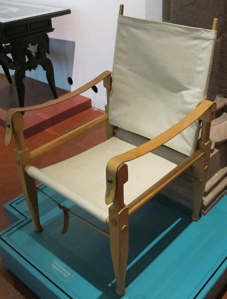 Safari Chair | © Door I, Sailko / Wikimedia Commons