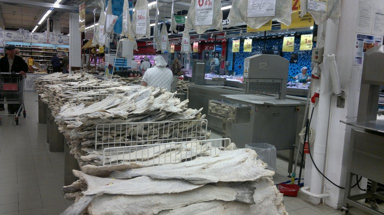 Bacalhau at the supermarket © Kimble Young / Flickr