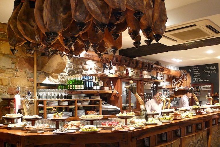 Pintxos bar San Sebastian