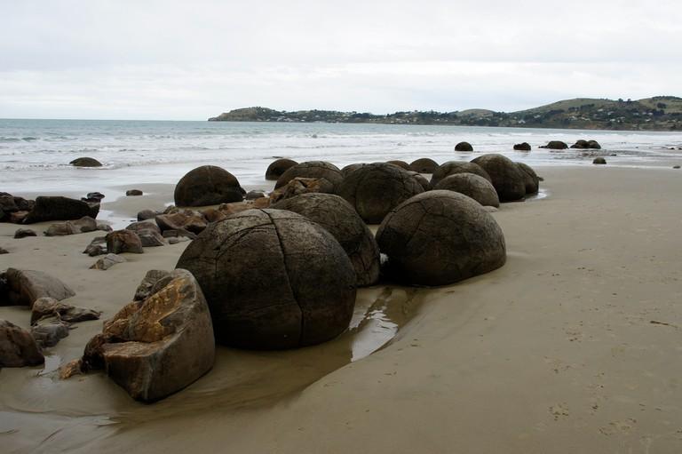 Moeraki Boulders | © ItravelNZ/Flickr