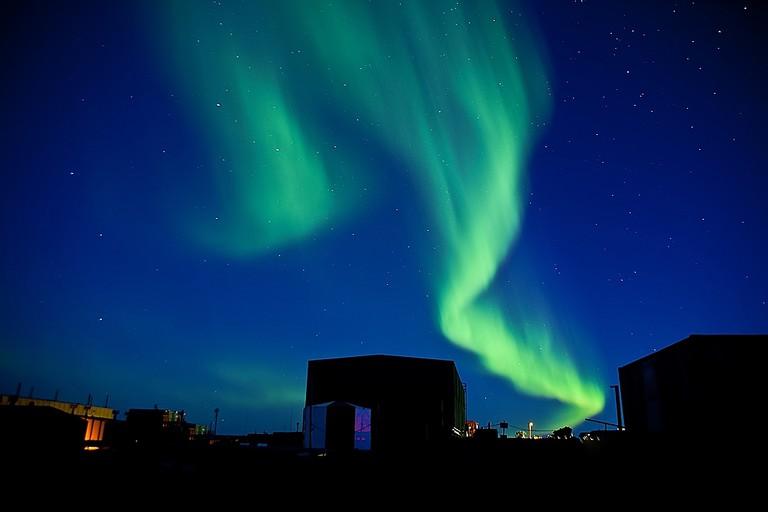 Aurora australis over Antarctica | © Antarctichorse / Flickr