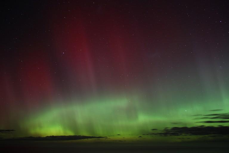 Edge of the aurora australis | © A.Sparrow / Flickr
