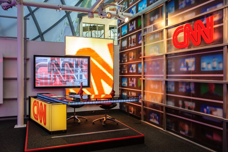 CNN headquarters in Atlanta   © lee_wu/Flickr