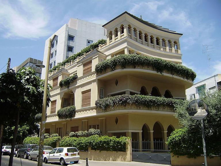 The Pagoda House in Tel-Aviv, Israel