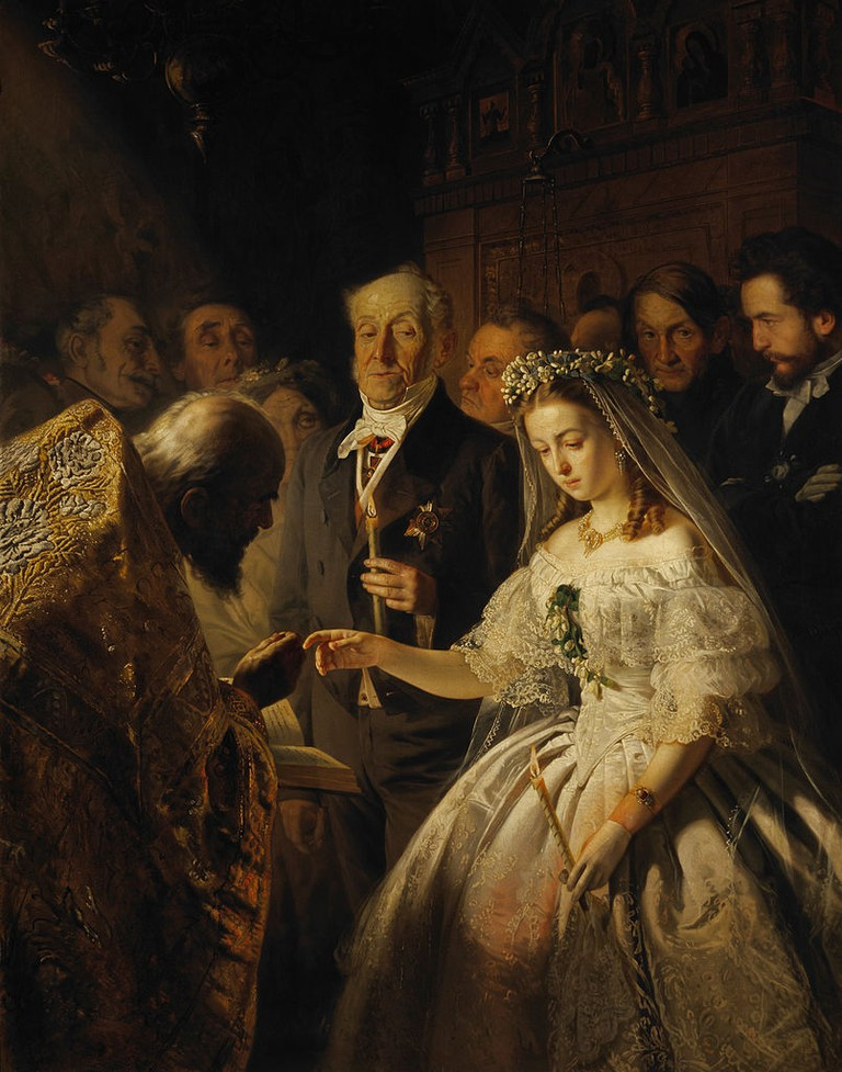 The Unequal Marriage | © Wassilij Wladimirowitsch Pukirev/ Wikimedia Commons
