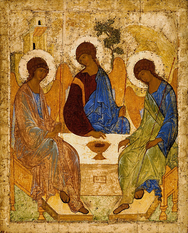 Andrei Rublev 'Holy Trinity' (1425–1427) | © Andrei Rublev