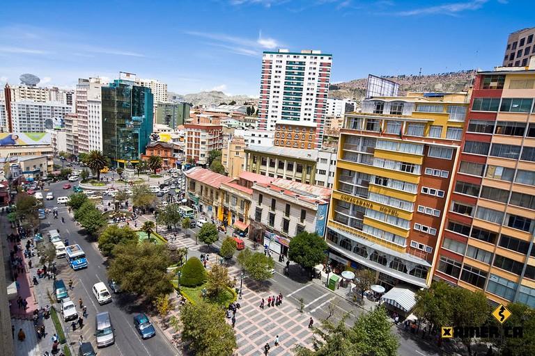 Downtown La Paz | © Evelyn Velarde/Flickr